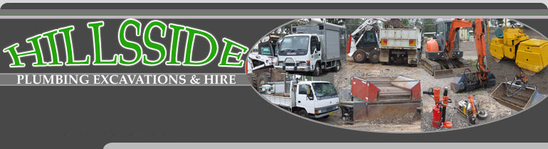 Hillsside Plumbing Excavation and Hire